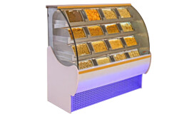Drawer Type Container Display Counters