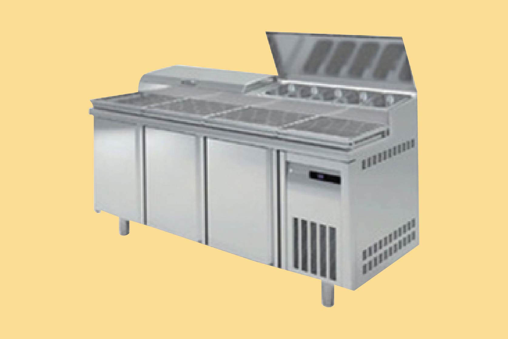 Pizza Display Counters